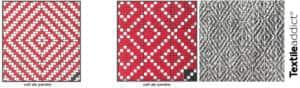armure oeil de perdrix grain de ble textile addict