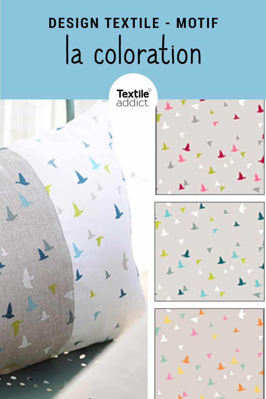 coloration motif textile
