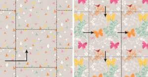 mise au rapport mise au raccord d un motif textile textileaddict