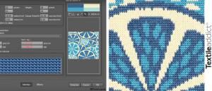 La simulation des textiles est un outil informatique qui permet de visualiser numériquement l'apparence et le format réels des étoffes aussi bien sur la face endroit que envers. Choix des fils, des textures, des densités ou encore des aspects sont possibles depuis la bibliothèque des logiciels de mapping. Ils permettent de simuler en un rien de temps les mailles des tricots et les armures des tissages avec leurs matières. Pour cela, sont utilisés : des fils simulés (fil bouclette, chenille, flammé, boutonné, etc …) : la densité, le métrage et la qualité des fils se fait en fonction de l'aspect général de l'étoffe à réaliser des effets d'ombre pour ajouter une profondeur à l'étoffe des effets de texture comme ceux du feutrage et du grattage ou des effets de fibres textiles avec plus ou moins de longueur simulation des mailles d'une étoffe