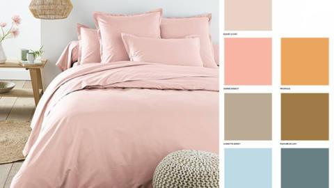 rose poudre textile addict.me