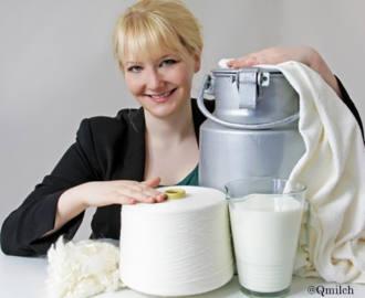 fibre textile lait recycle textileaddict