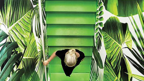 le vert greenery textileaddict