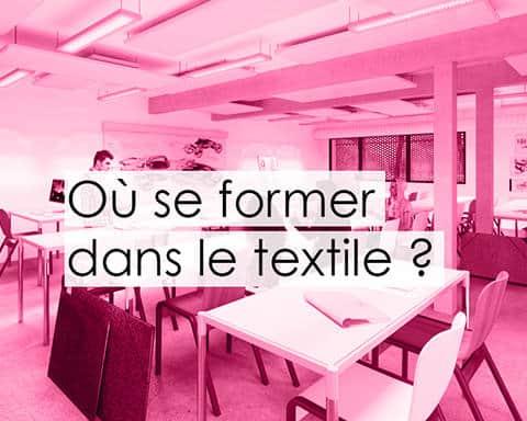 ou se former dans le textile textileaddict