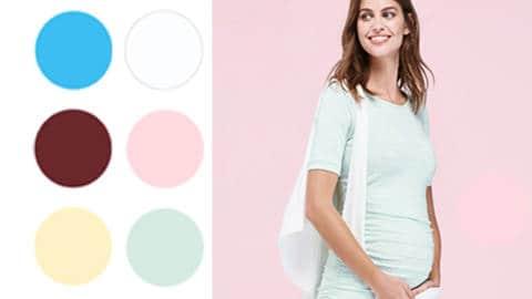 tendance maternité textileaddict