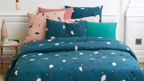 tendance terrazzo textileaddict