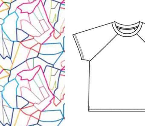 Croquis de mode et motif textile, comment faire? textileaddict