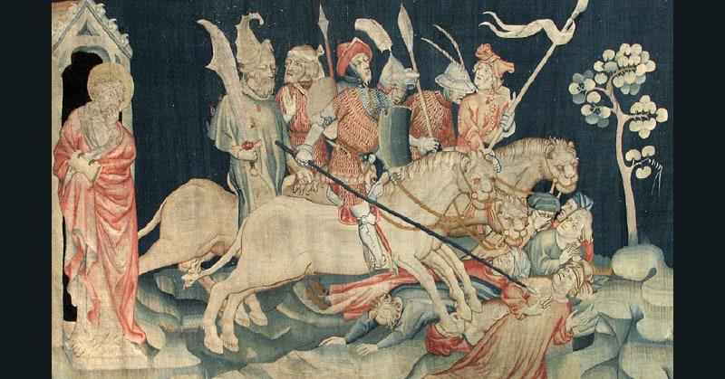 En Lices Histoire de la tapisserie française des origines jusqu'au XXe siecle textileaddict