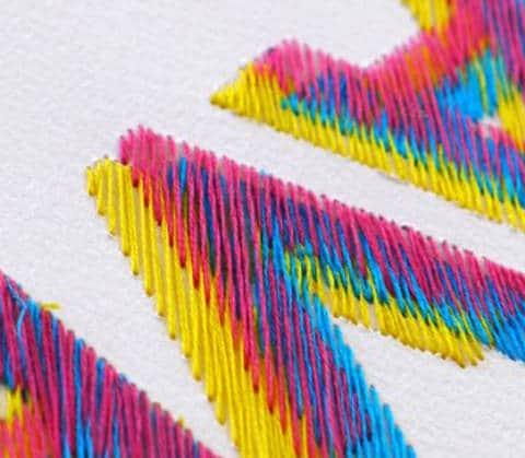 La typographie dans la creation textile textileaddict