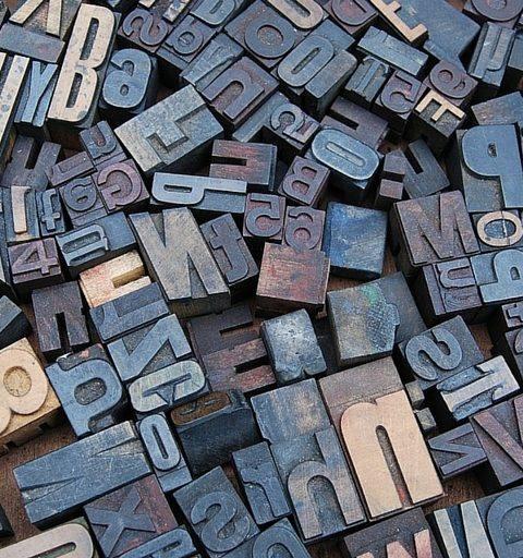 l'evolution de la typographie