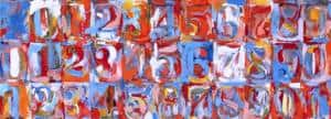 numbers in color©jasper johns