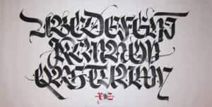 typographie composition abstraite textileaddict