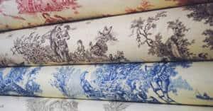 La toile de Jouy, le textile intemporel des Arts Decoratifs textileaddict