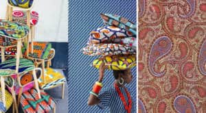 motif ethnique wax paisley textileaddict