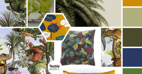 Tendance vegetale _Textile Addict