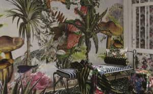 tendance vegetale JARDIN DES REVES PANORAMIC PRISME Christian Lacroix Designers Guild_Textile Addict