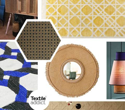 Tendance Cannage _Textile Addict