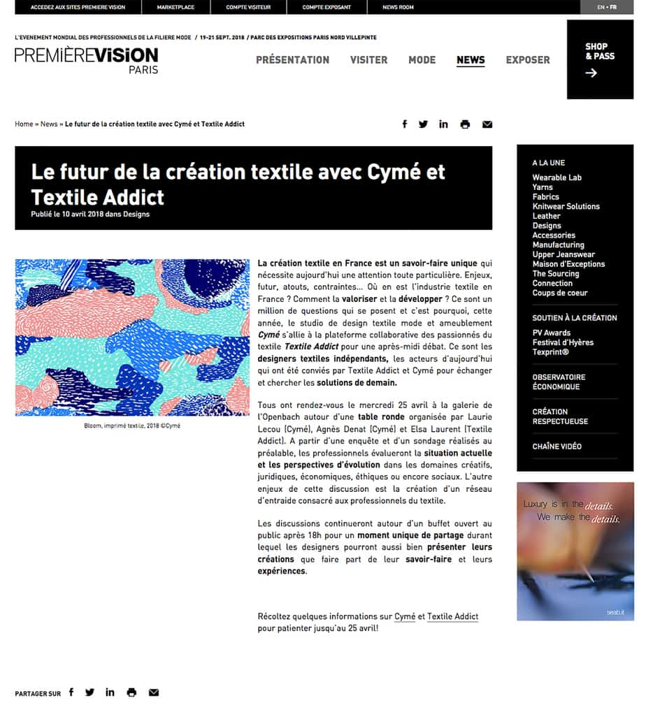 Permiere vision_Textile Addict_10042018