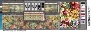 Reduction de couleur et nettoyage d'un motif Jacquard nettoyage image_Textile Addict