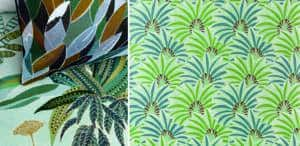 Tendance mexicaine motif vegetal_Textile Addict