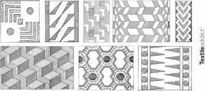 motifs textiles geometriques_Textile Addict