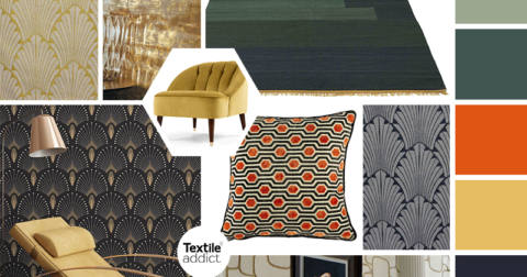 Tendance Art deco _Textile Addict