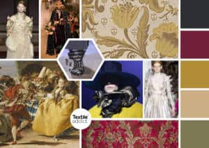 Tendance Baroque Venise s'invite dans la mode et la deco _Textile Addict
