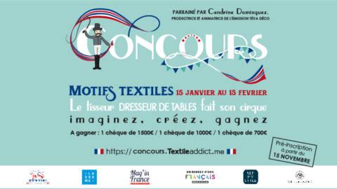 concours design textile motif_Textile Addict