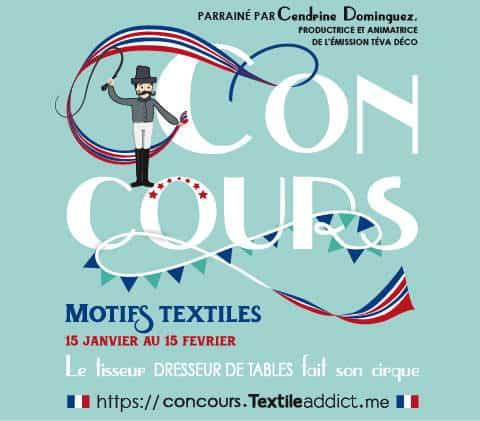 CONCOURS TEXTILE ADDICT - A vos motifs