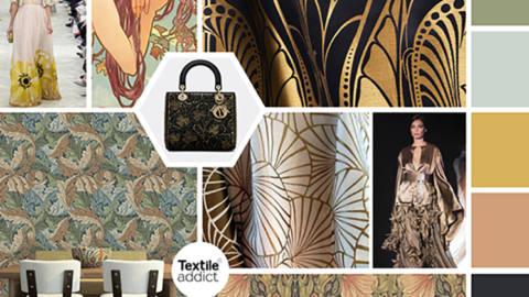 Tendance Art Nouveau - Alphonse Mucha toujours nouveau _Textile Addict
