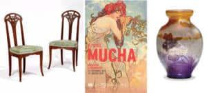 Tendance Art Nouveau mucha 2019_Textile Addict