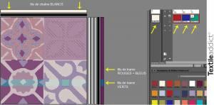 choix des fils de chaine et de trame_TextileAddict