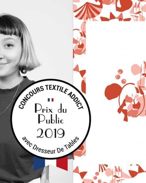 Prix du Public - designer textile Jeanne Guillet_TextileAddict