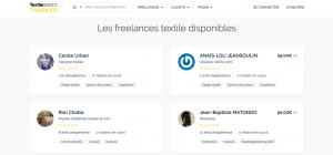 textile addict freelance