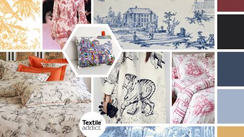 TENDANCE TOILE DE JOUY _TextileAddict