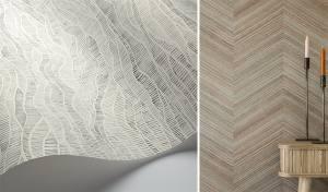 TENDANCE WABI-SABI papier peint _TextileAddict