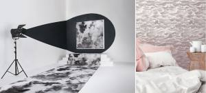TENDANCE WABI-SABI papier peint_TextileAddict