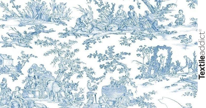 les motifs de la toile de jouy_TextileAddict