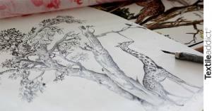 motif toile de jouy dior_TextileAddict
