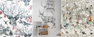 tendance Regne animal papier peint3_TextileAddict