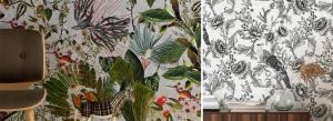 tendance Regne animal papier peint_TextileAddict