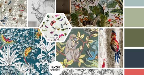 tendance Regne animal textile _TextileAddict