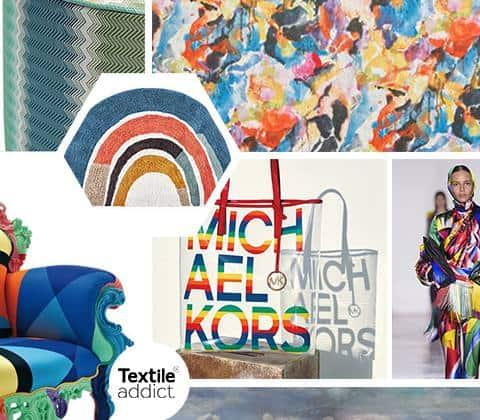 TENDANCE ARC EN CIEL _TextileAddict