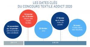 Concours Textile Addict 2020 dates