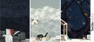 TENDANCE Dans les etoiles papier peint_TextileAddict