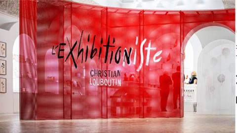 Exposition Christian Louboutin l'exhibitionniste