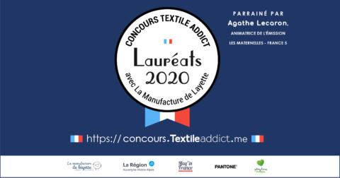 concours Textile Addict laureats