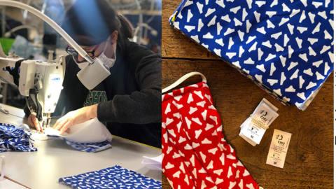 COVID-19 FILIERE TEXTILE leslipfrancais_TextileAddict