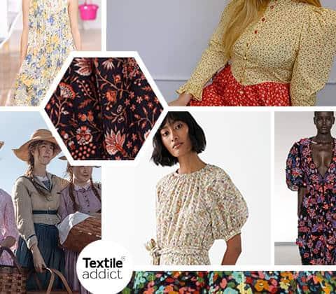MODE Tendance fleur de prairie _TextileAddict