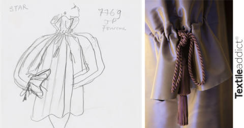 collection yves saint laurent croquis_TextileAddict